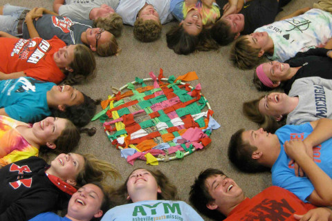 Youth Group at First Presbyterian Church in Iowa City